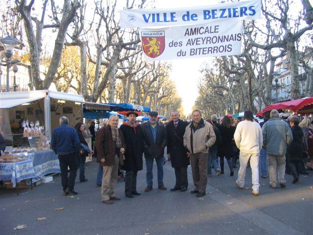 2005/12/09 - Marché des Pays de l'Aveyron a Béziers